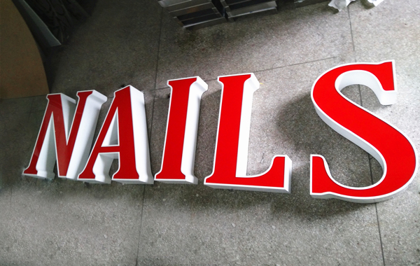 Fabricated Letter Sign