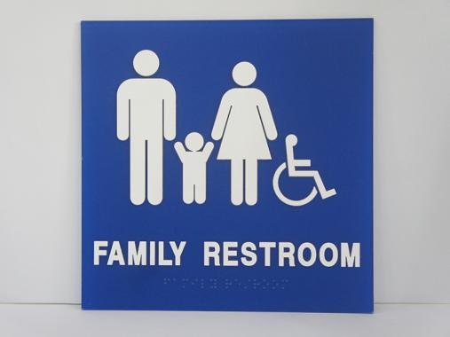 ADA Braille Sign