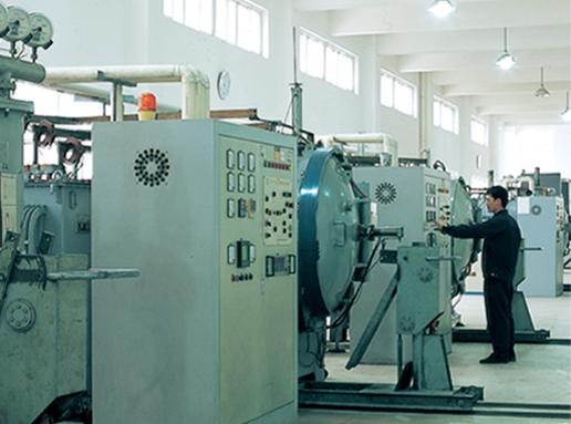 Metal parts processing center