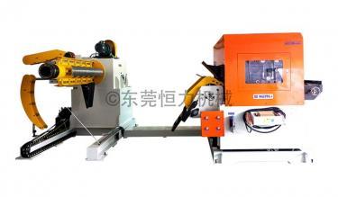 (NCHL-D)三机一体NC精密厚板滚轮整平送料机