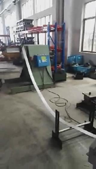 MT重型材料架+NC数控滚轮送料机