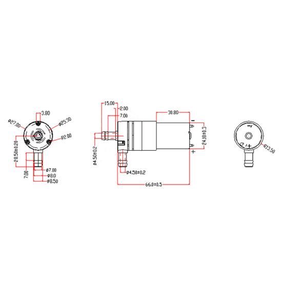 專業生產 SC3721PW臥式低噪音微型水泵 工程圖紙.jpg