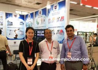 Amtex展览会以及四轴冲压机械手