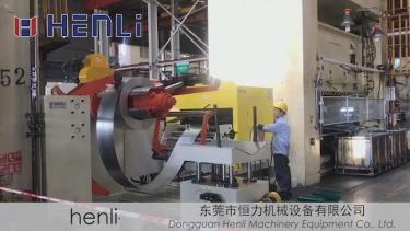 三合一送料机配1500吨进口冲床