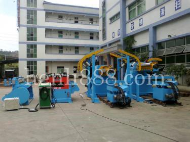 大型材料架生产线2