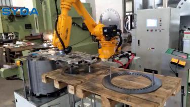 六轴搬运机器人定转子自动化