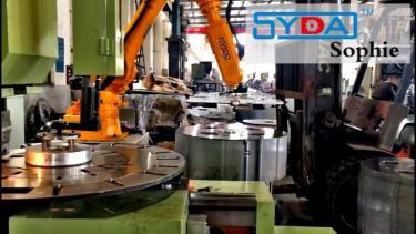 六轴机器人定转子自动化