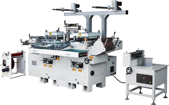 CNC multi - function two - seat die - cutting machine HB-350