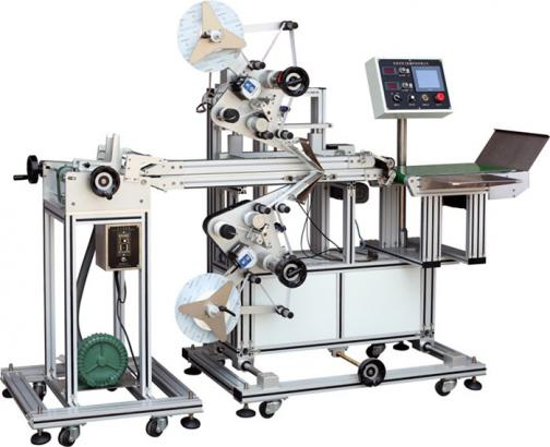 Protective film double-sided labeling machine hf-ta202