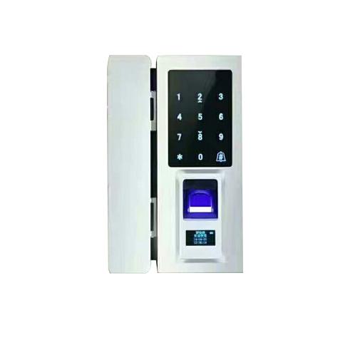 指纹密码玻璃门锁 F18-D1