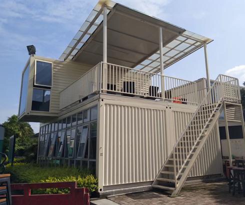 绿色环保的改造-集装箱房屋